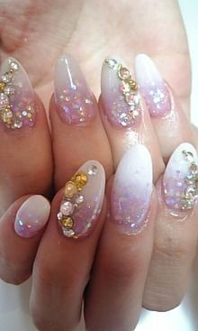 Mermaid Glitter Nails The Must Have Nail Trend Prettiesandpearlsblog