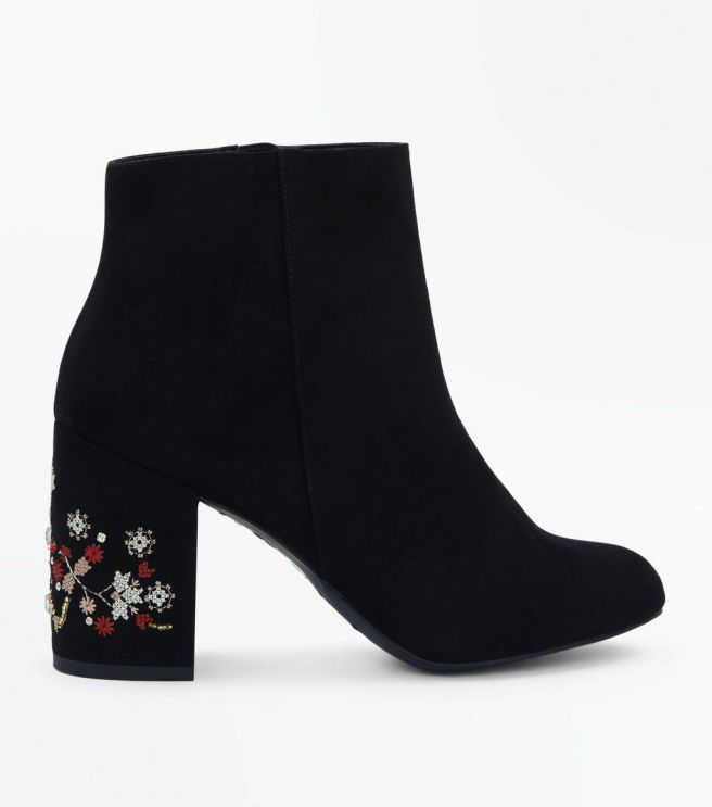 black-suedette-cross-stitch-embroidered-heel-boots