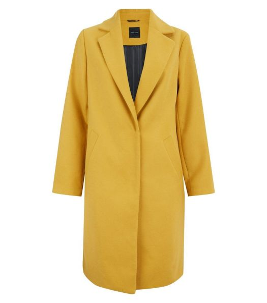 yellow-longline-collared-coat